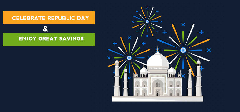 Republic Day 2018 - Best Coupons & Deals