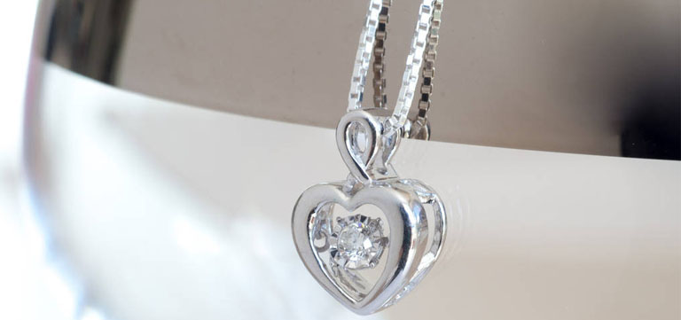 Feel Special Diamond Heart Necklace