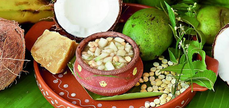 Enjoy Special Concoction Ugadi Pachchadi