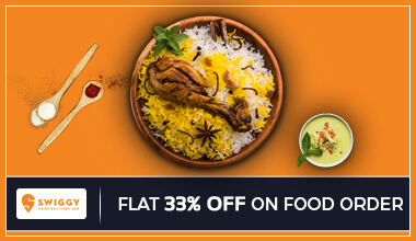 Swiggy 33% OFF Food Coupon