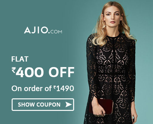 Ajio Rs 400 OFF Voucher Code