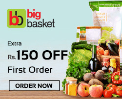 Bigbasket Rs.150 OFF Coupon