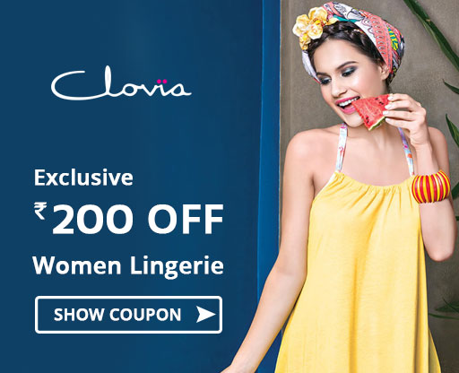 Flat Rs 200 OFF Lingerie Coupon Code