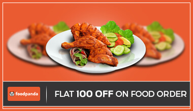 Foodpanda Rs 100 OFF Coupon Code