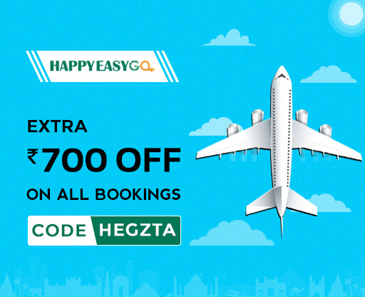 HappyEasyGo Rs 800 OFF Flight Coupons
