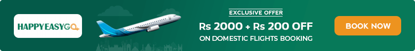 Upto Rs 2000 OFF + Extra Rs 200 OFF on Domestic Flight Tickets