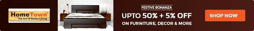 50% OFF HomeTown Furniture Coupon