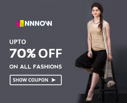 NNNOW Flat 50% OFF Fashion sale