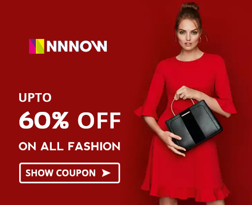 Nnnow Fashion Sale - 60% OFF Coupon