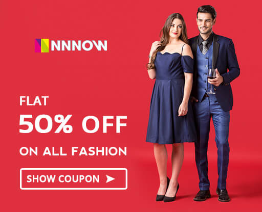 Nnnow Fashion Sale - Extra 20% OFF Coupon