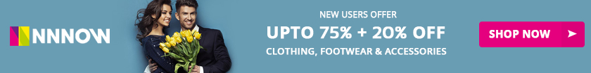 Nnnow Fashion Sale - 75% OFF Coupon