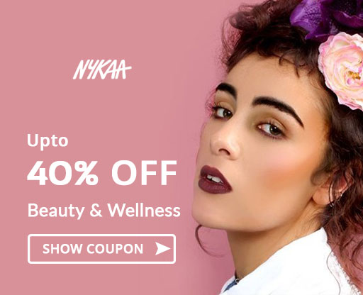 40% OFF Nykaa Offer