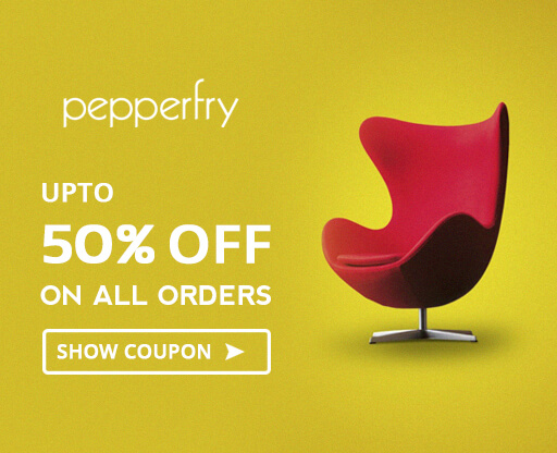 Pepperfry 50% Off Voucher Code