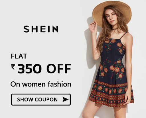 SheIn Rs 350 OFF Coupon