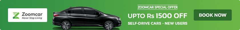 Flat 15% OFF on Car Rental Bookings (No Min. Booking Value)