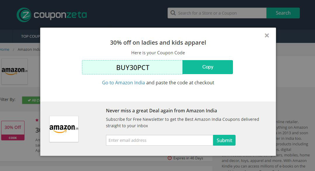 How to Use Coupons Screenshot 3