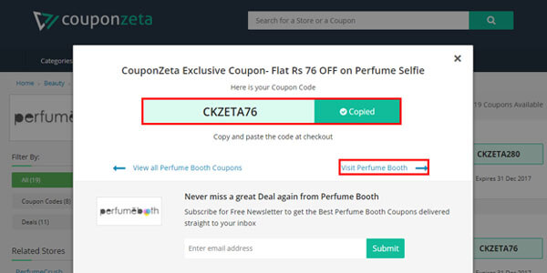 Perfumebooth Coupon